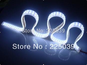 Ultra bright 3528SMD led flexible strip light, 240leds/m, DC24V input, Warm White and Cool White