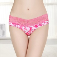 Free Shipping Women's Underwear Wholesale 100% Cotton Seamless Briefs Shorts Ladies' Sexy High Quality Thongs Panties Temptation