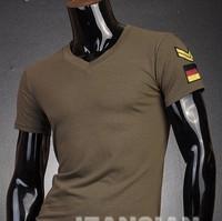 Mens Designer Casual V Neck T-Shirts Tee Shirt Slim Fit Tops New short sleeve t-shirt S M L XL D202