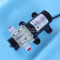 Free shipping 12V 25W micro diaphragm pump discharge pressure backflow PLD-1205 thread water pump wash car