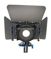 Steadycam Slider [drop Shipping] Professional Matte Box M3 for 15mm Rod Follow Focus Rig 5d2 Dv 4x4 Rotatable Filter 30200024