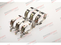 Pack of 6pcs-2.5'' T BOLT CLAMPS Turbo Pipe Hose Coupler Stainless Steel  67-75mm