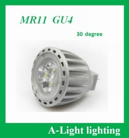 [ A-Light ]-79  LED MR11 4W,12V AC/DC,30 degrees beam angle,GU4 spotlight,Direct selling,retail wholesales free shipping