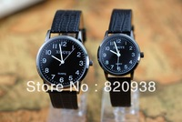 2013 Personalized couple watches fashion watches casual watches the creative couple watches wholesale cheap  1 packs(2pcs)
