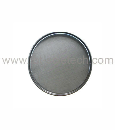 Bottom Made of Stainless Steel + Frame Made Of Iron (chrome plated) 300MM Laboratory Analysis Sieves for Soil and Rock Testing(China (Mainland))
