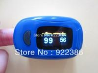 Fingertip digital Pulse Oximeter SpO2 and heart rate monitor Color OLED display oxymetre pulsometros saturimetro