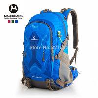 Free shipping travel bag sport backpack waterproof outdoor climbing mountaineering hiking camping backpack women&men 35L