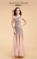 Fashion Formal Evening Dress Women's Dress Sales Long Design Princess Sweatheart Star Celebrating Beading Dresses Free Shipping