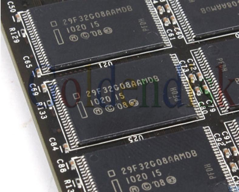 Внутренний твердотельный диск (SSD) Goldendisk format hard drive 32GB SSD computer harddisk 3Gb/s, Read 140 MB/s Write 25MB/S, 2 years warranty automotive