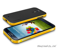 Hot Sell!!! Bumblebee SGP NEO Hybrid Case For Samsung Galaxy S4 SIV i9500 with retail box,MOQ:1pcs, Free Shipping,B0132