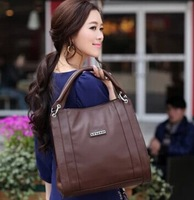 Women's bags 2013 female genuine leather women's handbag vintage motorcycle bag for ladies / luxury women tote / free shipping