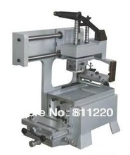 Manual datecode pad printing machinery,economic flat print tool,curve surface is available,silkscreen painting equipment,printer
