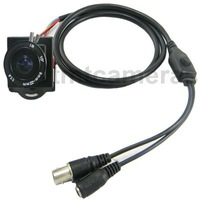 HD Mini 600TVL 1/3 Inch Sony CCD Nextchip 2040 9-22mm Manual IRIS Zoom MTV Lens CCTV Security Color Camera OSD Menu