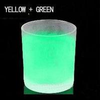Hot sale 500g yellow green glow in dark pigment,luminescent pigment,photoluminescent pigment,luminous powderFREE SHIPPING