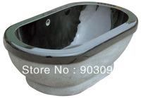 natural stone luxury tub absolute black marble stone bath tub freestanding bathtubs