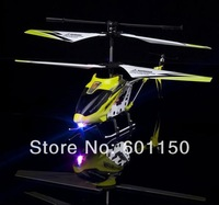 2014 Best cheap price Metal R/C Mini Helicopter 3 Channel Mini RC plane flashing light usb charger NEW S107G
