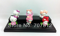 cute hello kitty  Cartoon Figure Toys  6pcs/set  free shipping action figure