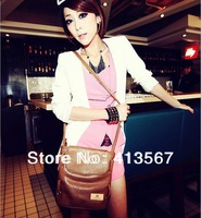 50% off New Women fashion messenger bag for women with candy colors pu leather shoulder bag messenger free shipping