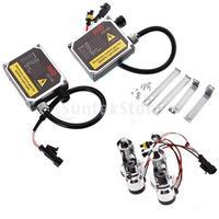 Free Shipping 50W 6000K H4 HID Xenon Car Automotive Head Lamp Kit