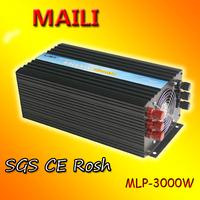 DC to AC Solar Power Inverter 3kw/3000 Watt 12V to 220V 230V Pure Sine Wave