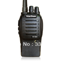 WH36 WANHUA Handheld Walkie Talkie with 16Ch, 5W output, Battery capacity indicator, Emergency Alarm, TOT/Scan/Monitor