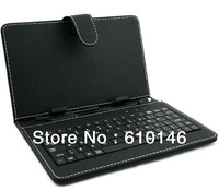"Free shipping 7"" keyboard case/cover with Standard USB 2.0 for Ainol fire/Flame,PIPO S1,Sanei N79/N77,Q88"