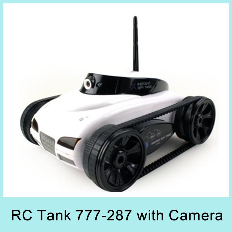 Hot vente 4ch rc réservoir wifi, contrôlée par iphone ipad télécommande électrique réservoir avec caméra. 777-287 meilleur cadeau jouet pour les enfants