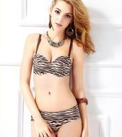 Free Shipping 2014 Hot sale Seamless Bra Set Young girl's One Piece Bra Set ladies' underwear set wholesale/retail