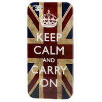 National flag Style United Kingdom Flag Pattern Plastic Protective Case for iPhone 5