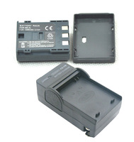 Free shipping new 2 piece NB-2LH NB-2L Battery with Charger For Canon EOS 350D 400D S80 G7 G9 ZR960 MVX350i