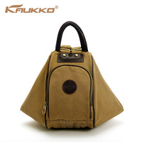 Multi-purpose backpack school shoulder bag totes women canvas luggage & travel bags  Kaukko brand FP16
