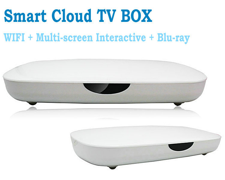 2013NEW Android 4.0 network TV set-top box Built-in WIFI Blu-ray HDMI HD player Free shipping(China (Mainland))