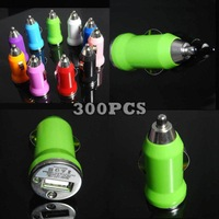 5V 1A USB Car Charger Adapter for iPhone iPod Nano Touch 300pcs/lot Express Shipping
