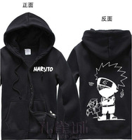 Free Shipping New Anime Naruto Hatake Kakashi Clothing Hooded Sweatshirt Cosplay Hoodie Costume