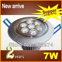 BOPO High Power Modern 7W LED Ceiling Light Fixture Aluminium Light White/Cool White lots