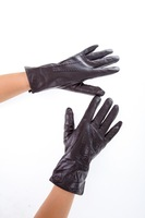 Free Shipping! 2014 High Quality ! Real Genuine Sheep Leathe Ladies  Fashion Gloves