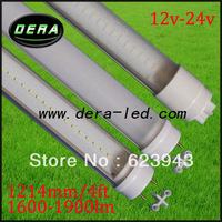 1200mm tube light/12V led light tube /4 feet T8 Led tube lamp high lumen/ 20W led tube Lighting /FREE SHIPPING for DHL