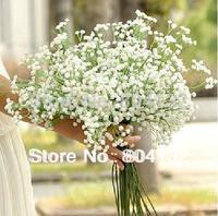 24Pcs 55cm Artificial Simulation Baby'sbreath Flowers for Wedding Bridal Flower Centerpieces Christmas Party Home Decorations