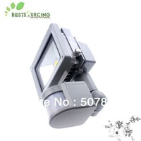 free shipping hot selling 1pcs 10W 85-265V waterproof PIR Motion sensor Induction Sense Sensor lamp LED Flood Light