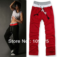 Multi Color Men's Boys Sports pants Loose Training Run Long Pants Trousers JX0112