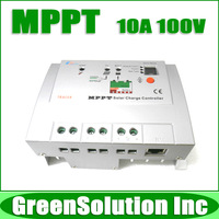 2013 NEW!! Max.PV 100V, 10A MPPT Solar Charge Controller Regulators 12V/24V PV System, Tracer 1210RN