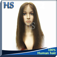 Top Sale 2013 Brazilian Lace Front Wigs with Stretch Lace color 4#, 8-28inch In Stock, factory outlet price with free shipping