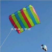 New Beautiful The Wings of the Rainbow Kite / children fun / gift free shipping hot !!!