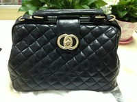 2013 New Fashion Casual Women's Rotation Lock Lozenge Handbag Messenger Bag in Stock