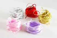 Free shipping, party supplies tied balloons ribbons, 8 colors 100 pieces per lot, Drop shipping, PP0020
