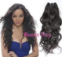 QNice Hair brazilian natural wave hair cheap brazilian hair 2pcs lot free shipping unprocessed virgin brazilian hair