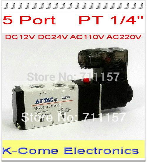 Пневматические детали 1/4 2 5 AirTAC 4v210/08 , 12 24 AC 110v 220v 4V210-08 ac contactor lc1f115d7 lc1 f115d7 42v lc1f115e7 lc1 f115e7 48v lc1f115f7 lc1 f115f7 110v lc1f115g7 lc1 f115g7 120v
