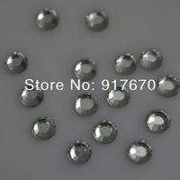 Wholesale SS6 1.9-2.0mm white Clear Crystal Korean HotFix FlatBack Rhinestones 1000gross/bag,DIY iron-on Hot Fix crystal stones