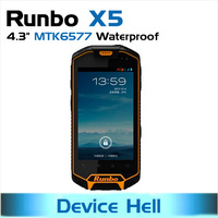 in stock freeshipping original Runbo X5 android phone gorilla glass IP67 Outdoor phone rugged Dustproof Waterproof Russian