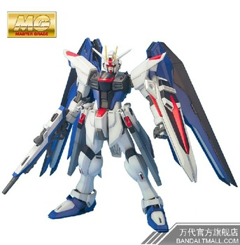 Free shipping genuine bandai MG 72 SEED 1/100 Freedom  gundam model toys